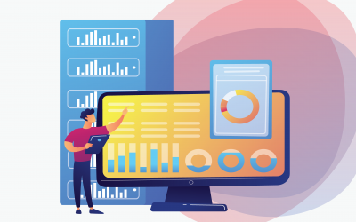 Salesforce analytics, reports and dashboards illustration