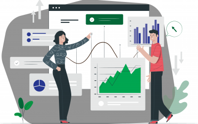 Salesforce trends shaping the future of work illustration